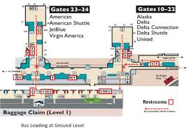 Airport Terminal Floor Plans by Terminal B Arrivals Honor Flight Dca Reagan National Airport