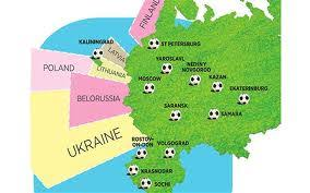russia world cup cities map fifa world cup 2018 russia will it go ahead football our