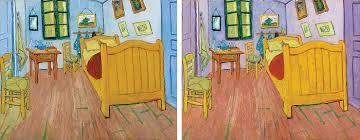 the bedroom van gogh van gogh s fading colors inspire scientific inquiry february 1