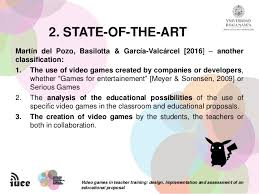 design implementation proposal video games in teacher training design implementation and assessmen