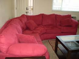 furniture inspiring cheap sectional sofas in solid red plus