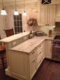 antique white kitchen island my diy kitchen two tier peninsula viking range stools from