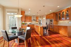 kitchen wood flooring ideas 52 enticing kitchens with light and honey wood floors pictures