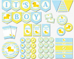 rubber duck baby shower decorations gender reveal party baby shower decorations