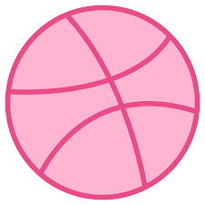 Pink Flat Color Dribbble Icon Free Download At Icons8