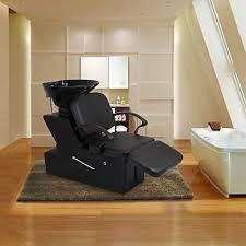 salon sink and chair esright shoo chair backwash sink adjustable footrest salon spa