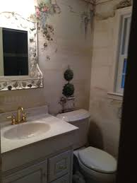 furniture habitually chic half bathroom decorating ideas over