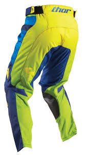 thor motocross gear thor mx motocross men u0027s 2017 pulse velow pants navy lime choose