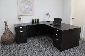 office awesome l shaped desk with cabinet filling in antique