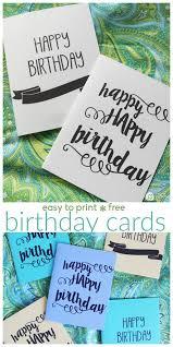 printable birthday cards today u0027s creative life