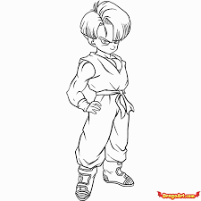 bulma vegeta coloring pages coloring pages ages