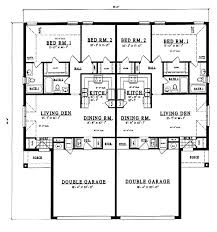 Multi Family Homes Floor Plans 67 Best Duplex Plans Images On Pinterest Duplex House Plans
