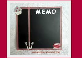 memo cuisine memo ardoise et noir thème cuisine créa démonstratrice