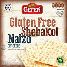 gluten free passover products gefen gluten free shehakol matzo crackers gluten free passover