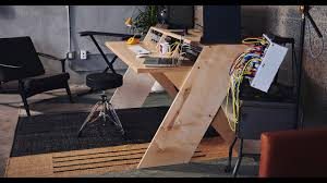 Building A Studio Desk by Platform By Output Why Did We Build A Desk Youtube