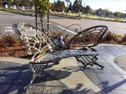 butterfly bench petaluma ca insect sculptures on waymarking com