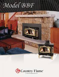 country flame indoor fireplace bbf user guide manualsonline com