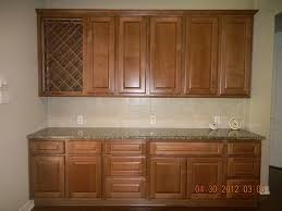 Wine Rack In Kitchen Cabinet Stunning Built In Kitchen Buffet With Double Door Cabinets With