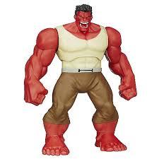 avengers red hulk shake u0027n smash figure hasbro toys