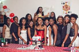 bn bridal shower winning temilade u0027s casino adventure bellanaija