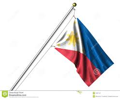 Phippines Flag Isolated Philippines Flag Stock Illustration Image Of 7967127