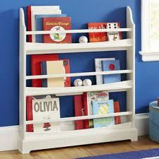 Kids Wall Shelves by Book Holder For Shelf Gray Ladder Shelving Unit 5 Tier Display