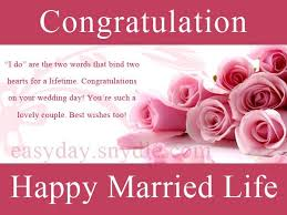 marriage congratulations message top wedding wishes and messages easyday
