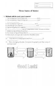 6 best images of matter worksheets grade 5 5th grade science