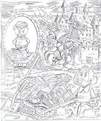 the unknown adventures of crooge mcduck script pages to the lo
