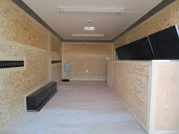 contractor trailers custom enclosed cargo trailers and car trailers