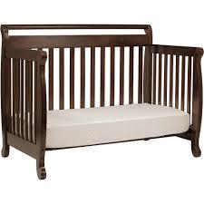 Davinci Emily Mini Crib White by Davinci Emily 4 In 1 Convertible Crib Ebony Black Walmart Com