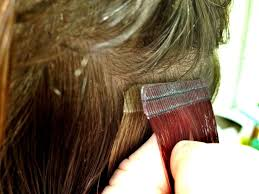 Red Tape Hair Extensions by 100 Human Hair Perfect Hair Tape Hair Extensions Tried It