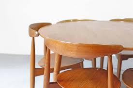 tikamoon jon k teak dining room table 180x80 danish teak dining