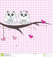 newborn twins baby with owl baby shower greeting card stock vector