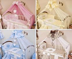 Luxury Baby Cribs Uk by Luxury 12 Piece Nursery Bedding Set Fits Baby Cot Kids Cot Bed