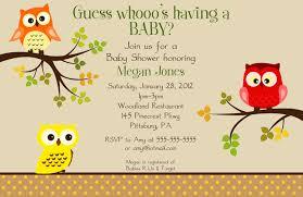 owl baby shower invitations card invitation ideas card