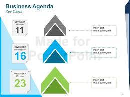 agenda powerpoint template eliolera com
