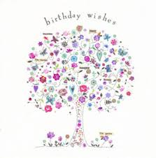 birthday wish tree pink birthday wishes tree pink traditional lifestyle cards