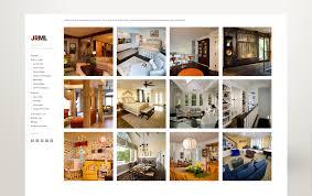 jrml interior and exterior design website evolv design