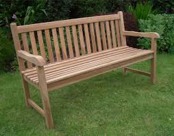 Outdoor Bench Furniture by Solid Teak 3 Seat Chunky Park Garden Bench Sale Now On Your Price