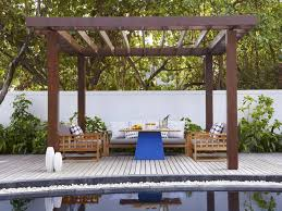 Wood Pergola Plans by Poolside Patios Wood Pergola Pergolas And Patio Pictures