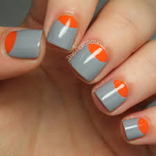 how to create a half moon nail more com