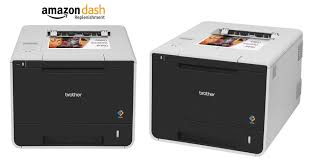 brother hll8350cdw wireless color laser printer amazon dash