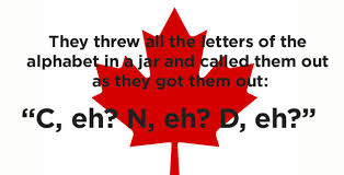 how did they name canada 18 jokes only canadians will
