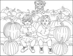 pumkinsnewcontur desen colorat toamna autumn coloring page 574132