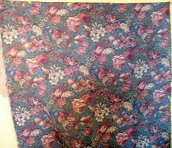 Vintage Floral Upholstery Fabric Txt2 Vintage Floral Damask Upholstery Fabric Heavy Weight 56 X