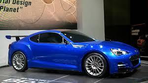subaru brz matte blue subaru brz concept car in subbie blue youtube
