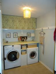 Laundry Room Storage Between Washer And Dryer by 20 Laundry Room Makeover Ideas You Can Try In Your Home