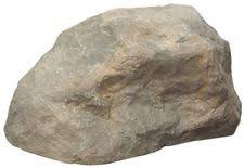 Fake Rocks For Landscaping by Outdoor Essentials Faux Rock Tan Small 090489314798 Ebay