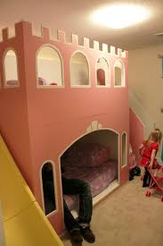 Princess Castle Bunk Bed Apartments Diy Castle Bunk Bed Make Princess Beds For Awesome